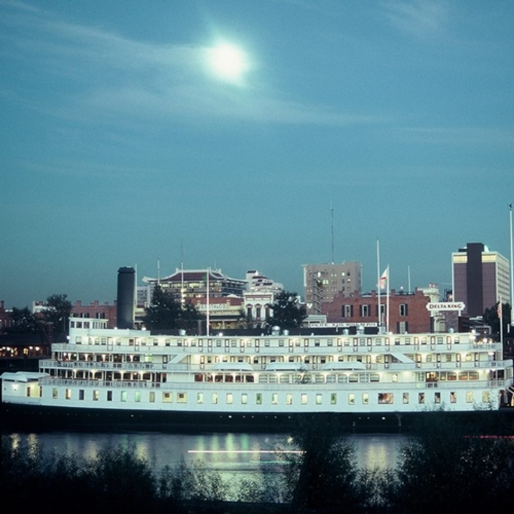 The Delta King riverboat in Sacramento