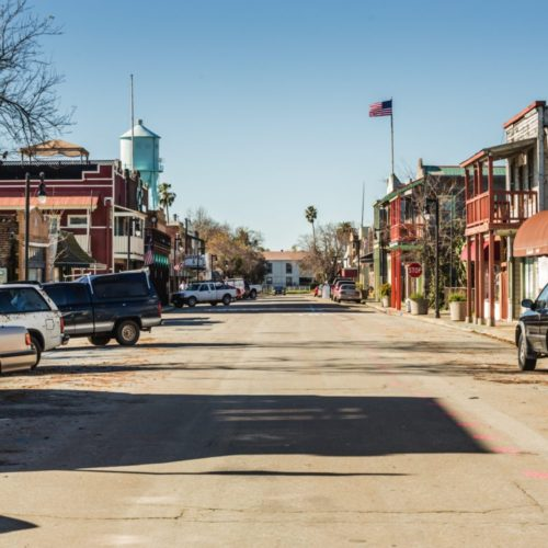 Street view of Downtown Isleton
