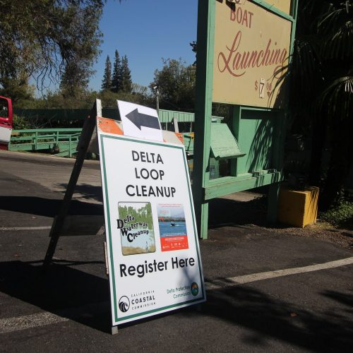 Delta Loop Cleanup directory sign