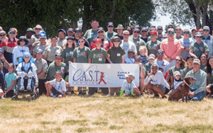 Group photo for CAST for Kids volunteering event
