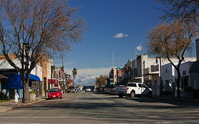 View of Main Street Isleton