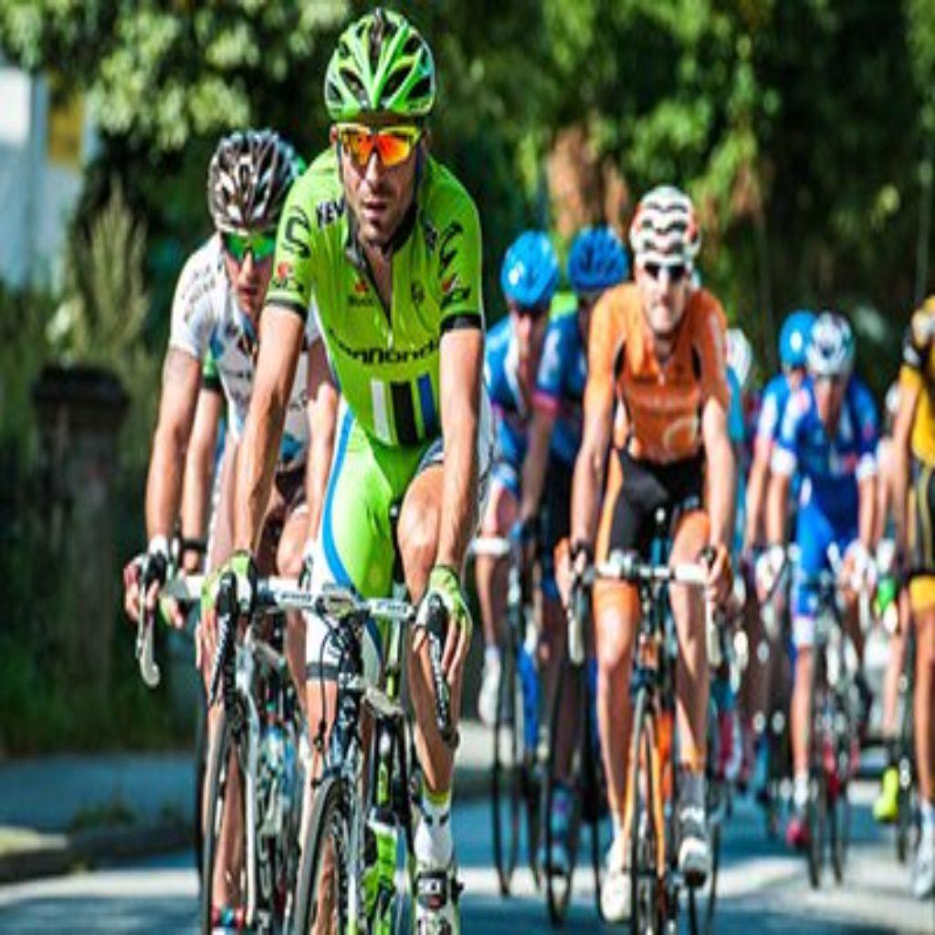 Amgen Tour california bike race