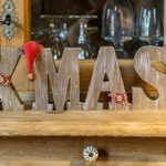 Block letters of XMAS