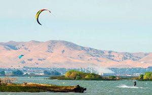 Delta kiteboarding