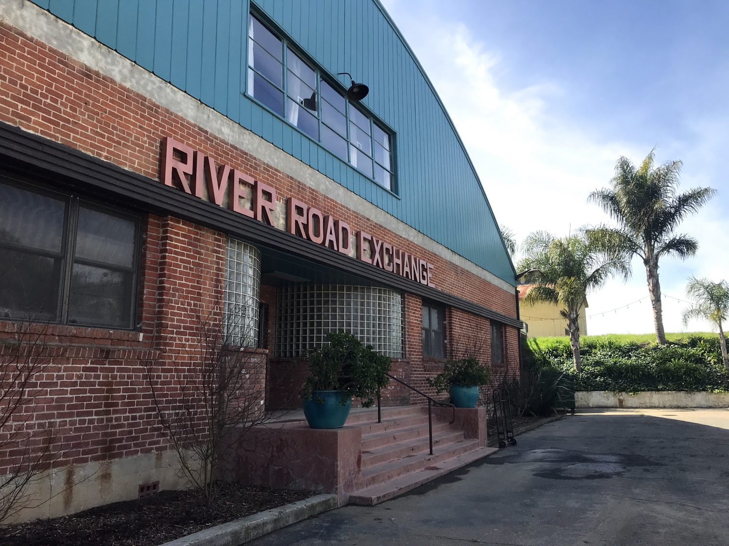 Hood, CA, River Road Exchange building, Sacramento river, multi use building, building rental, event planning, Willow Ballroom, booking building, historic warehouses,