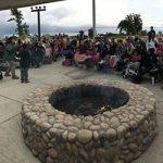 Evening campfire event at Big Break Regional Shoreline