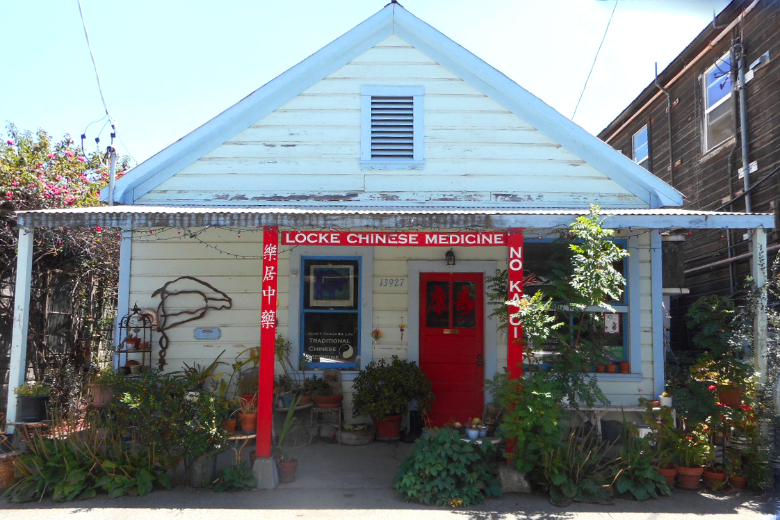 Chinese Medicine storefront in Locke