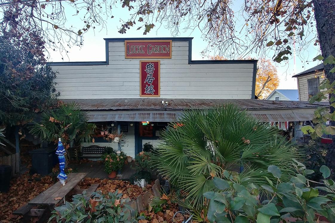 Locke Garden restaurant storefront view