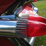 Bethel Island 50's Bash car tail lights