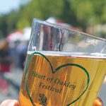 Heart of Oakley beer and wine glasses