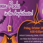 Delta Halloween Rocks event flyer