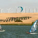 Windsurfing and kiteboarding in the Delta