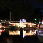 Delta Christmas lighted boat parade