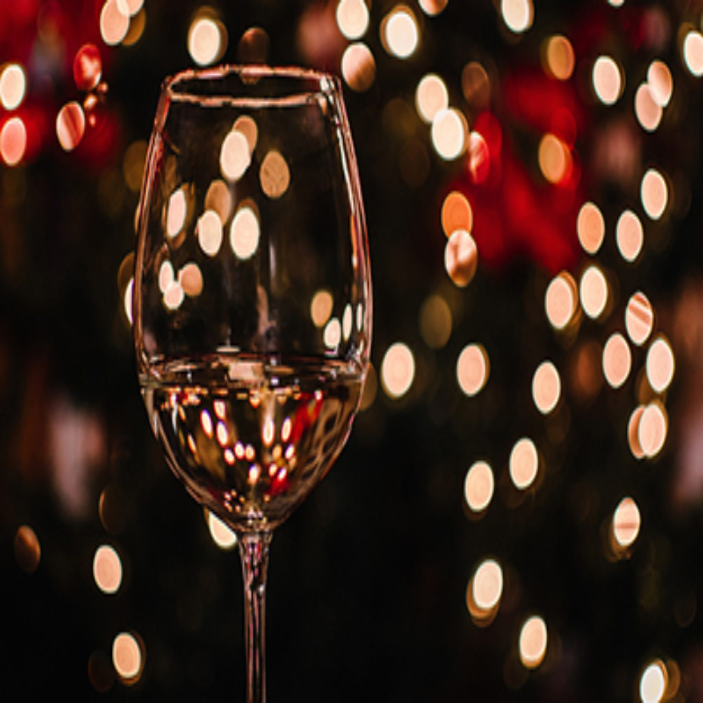 Delta celebrating the holidays with wine