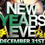 New Year's Eve Party out in the Delta event flyer