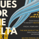 Delta Blues concert event flyer