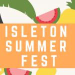 Isleton Summer Fest event flyer