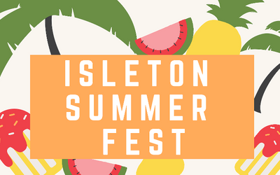 Isleton Summer Fest event flyer