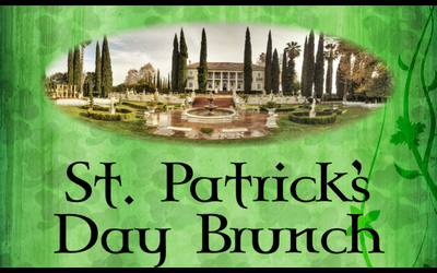 St Patrick Day Brunch at Grand Island Mansion