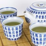 Locke Asian Pacific Spring Festival tea set