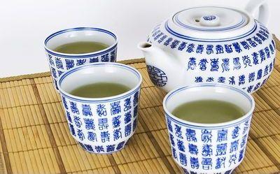 Locke Asian Pacific Spring Festival tea set