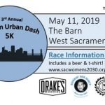 SacTown Urban Dash flyer
