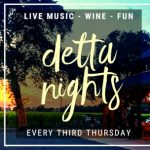 Event flyer for Delta Nights