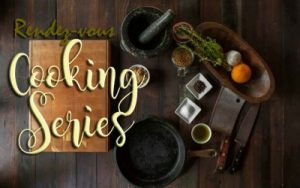 Event flyer for cooking class
