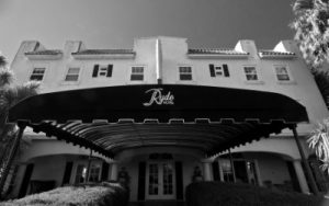 Front view of Ryde Hotel