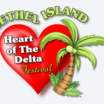 Event flyer for Bethel Island festival