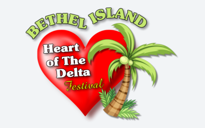 Event flyer for Bethel Island festival