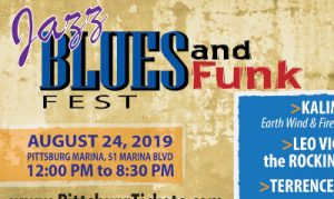Pittsburg Jazz festival event flyer