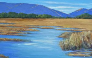 Yolo Basin Morning painting by Marie-Thérèse Brown