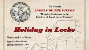 Event flyer for Holiday in Locke