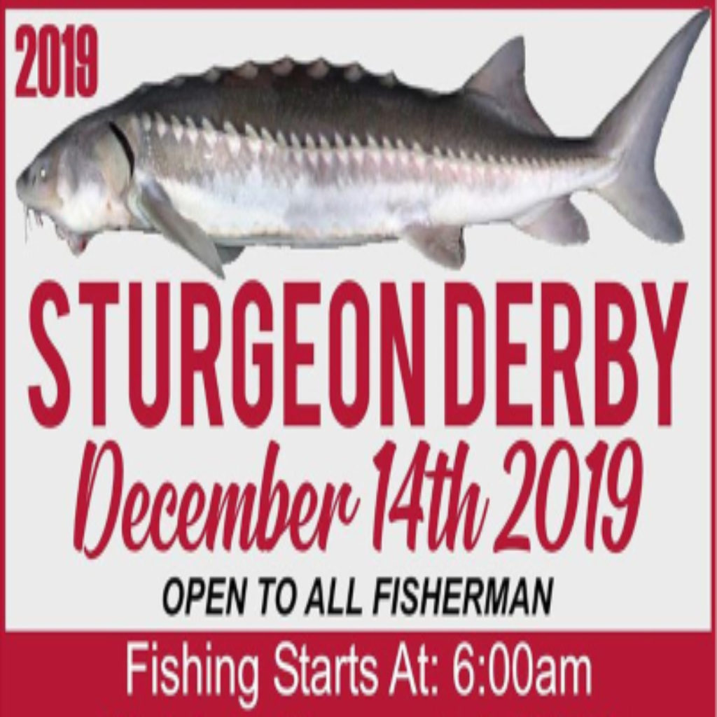 event flyer for the Sturgeon Derby