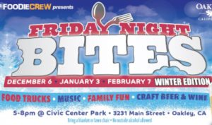 event flyer for Oakley food truck friday