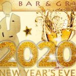 event flyer for Sugar Barge New Year Eve Party