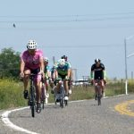 Bike riding race